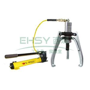 优伟 液压拉马,分体式液压拉马 含液压泵,4 Ton 190mm,US-4