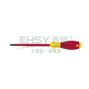 电工绝缘一字螺丝刀,绝缘1000V 2.5×75mm,00820