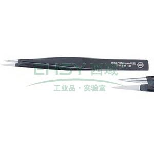 威汉防静电镊子,光滑尖爪型 长135mm,32326