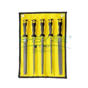 """五件套锉刀,10""""/250mm,BS501153"""
