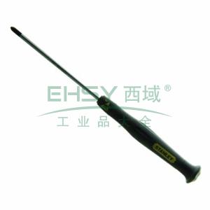 史丹利 十字微型防静电螺丝批PH1x80mm,66-429-23