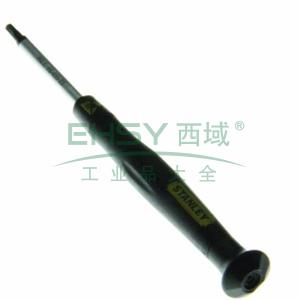 史丹利 6角微型防静电螺丝批H1.3x45mm,66-452-23
