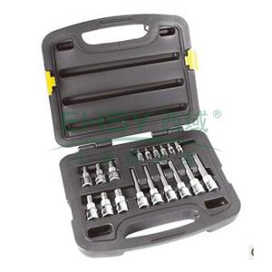 史丹利 18件套6.3MM,12.5MM系列花形旋具套筒组套,91-941-22