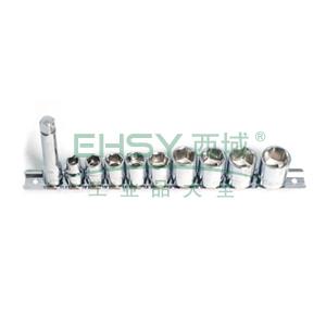 史丹利 11件10MM系列套筒组套,95-322-1-23
