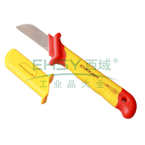 力易得 直刃式绝缘电工刀,E7029