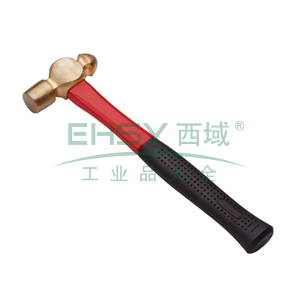 力易得 防爆圆头锤,铍青铜 16 oz,E8962