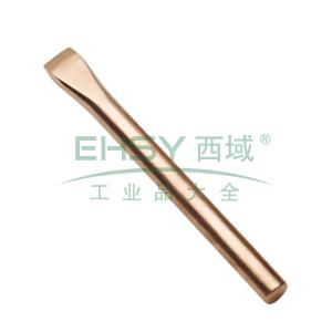 力易得 防爆圆形扁铲,铍青铜 14x160mm,E8972
