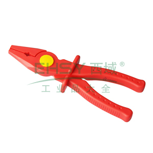 力易得 绝缘塑料尖头线夹200mm,E9739