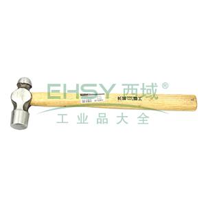 长城精工 木柄圆头锤,16oz,252062