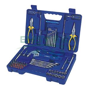 长城精工 6.3mm系列套筒综合组套工具,66件套 340*220*70mm,406066
