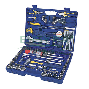 长城精工 套筒综合组套工具,126件套 480*360*90mm,406126
