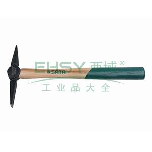 胡桃木柄焊工除渣锤,0.5磅