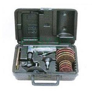 """英格索兰气动修磨机套装,多功能直角式,1/4""""夹头,190W,301B32MK"""