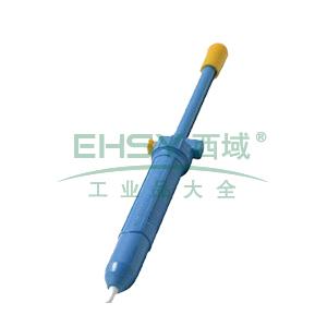 白光手动式吸锡泵,吸入能力28C.C,DS01