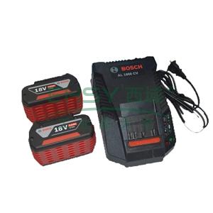 博世电池套装,2电1充套装18V/5.0Ah,1600A001Z1