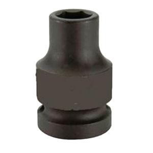 """霹雳马1/2""""方头14mm 公制标准型六角套筒, 60720014"""