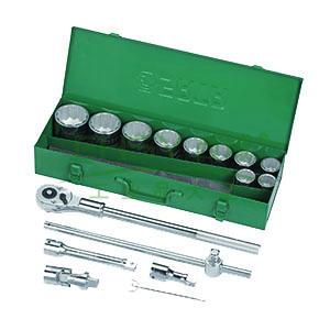 世达十二角套筒套装, 15件套19mm系列 09015