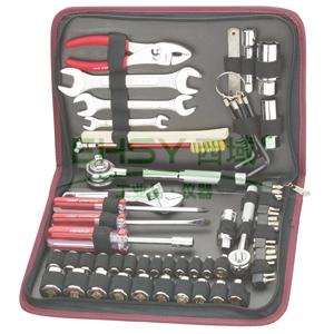 随车工具组套,力易得 60件套,E1129