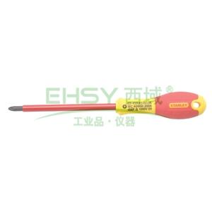 史丹利绝缘米字螺丝刀,双色柄,0#X75mm,65-417-14