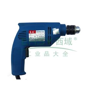 东成手电钻,300W 3000r/min,夹持能力10mm,J1Z-FF03-10A