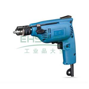 东成手电钻,230W 0-3800r/min,夹持能力6.5mm,J1Z-FF02-6A