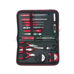 力易得 便携工具包组套,15件,E1126