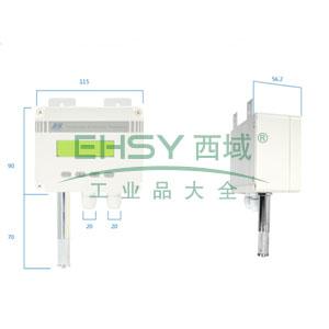湿度控制器,昆仑海岸,JSK-52SW,DC 24V,2路继电器,壁挂式