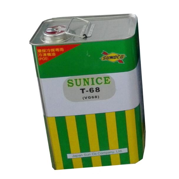 冷冻油,太阳,T-68,4L/桶,POE型,铁桶