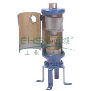 """离心式油分离器,Emerson,A-FC 12302525H,ODF接口3_1/8"""",10""""支架,蓝色"""