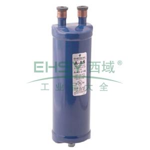"""气液分离器,Emerson,A-AS 596,ODF接口3/4"""",蓝色"""