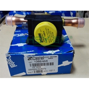 """常闭电磁阀ODS接头(带线圈,膜片式),卡士妥,1068/4A6,1/2""""ODS接口"""