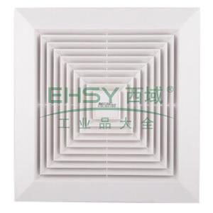 天花板式换气扇,绿岛风,APT20-3-2,220V/50Hz,30W