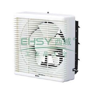 百叶式换气扇,绿岛风,220V/50Hz,APB20-4-B,25W