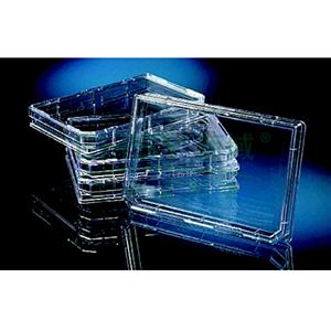 OmniTracy塑料盘NunclonTM△,外部尺寸128*86mm,聚苯乙烯,已灭菌,数量每包/箱10/90,颜色,透明