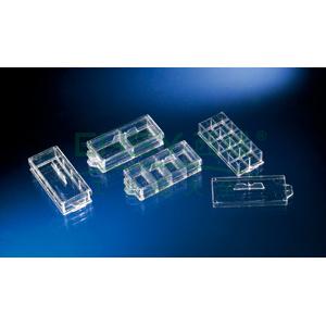 LAB-TekTMⅡ,腔室盖玻片,1.5硼酸硅玻璃,通过CE认证,已灭菌,孔数,1