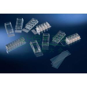 LAB-TekTM,腔室玻片,通过CE认证,已灭菌,孔数,1.玻片材料,玻璃