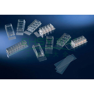 LAB-TekTM,腔室玻片,通过CE认证,已灭菌,孔数,8.玻片材料,玻璃