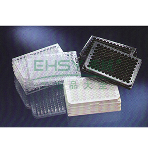 Nunc F96 MicroWellTM微孔板,聚苯乙烯,外部尺寸128*86mm,颜色,白色,数量每包/每箱,10/80,表面,MaxiSorp
