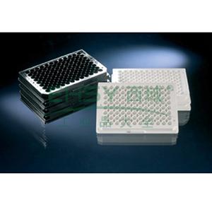 用于荧光检测的Nunc96孔酶标板,每板96孔,聚苯乙烯,外部尺寸:128*86mm,规格,C96,颜色,白色,表面,MaxiSorp
