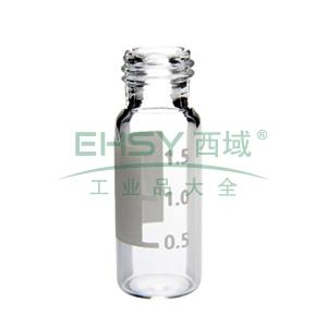 透明螺纹 ID 样品瓶 100/包