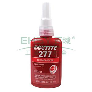 乐泰螺纹锁固剂,Loctite 277高强度型,50ML