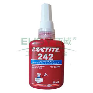 乐泰螺纹锁固剂,Loctite 242中强度,50ML