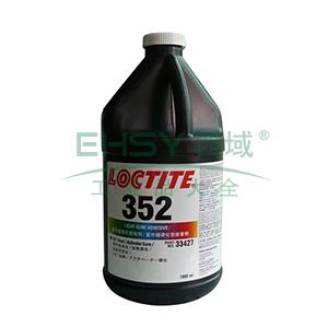 乐泰光固化胶,Loctite 352UV,1L