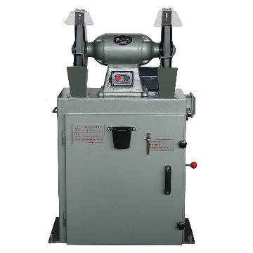 西湖250除尘式砂轮机,380V 1.25KW 2850/min,M3325(MC3025)