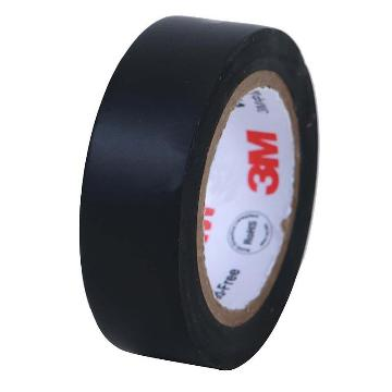 3M单面压纹聚乙烯膜布基胶带, 黑色