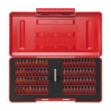 PB SWISS TOOLS 盒装转换套筒杆和80个批头套装 PB C6.991