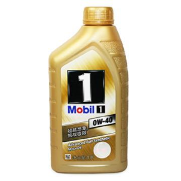 美孚1号全合成机油,金美孚0W-40,SN级,1L X 12