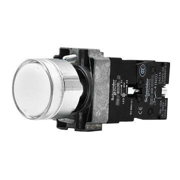 施耐德 金属带灯按钮,XB2BW31M1C 220V