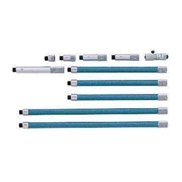 三丰 内径千分尺,137系列接杆式 带硬质合金头 50-500mm,137-208