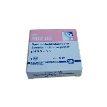 MN 特种酸碱试纸,pH0.5-5.5,90205,5卷起订